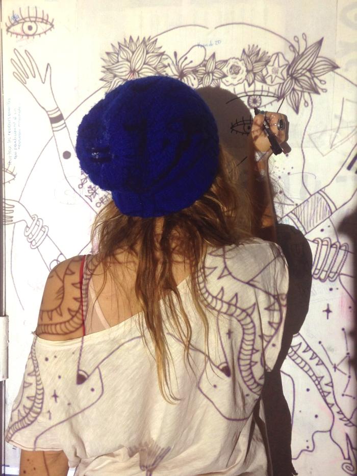 brujita mural
