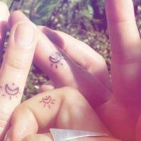 Natalie, Manoella and Vic // Tattoed by Codicero Yawi