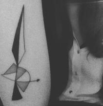 Helen // Tattoed by Marion Kalimeris