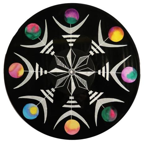 Cosmic I // Mixed Media on Record