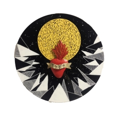 Cosmic II // Mixed Media on Record