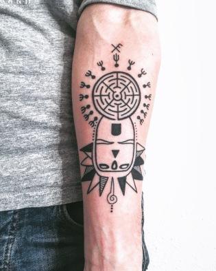 Antoine // Tattoed by Julien Samou